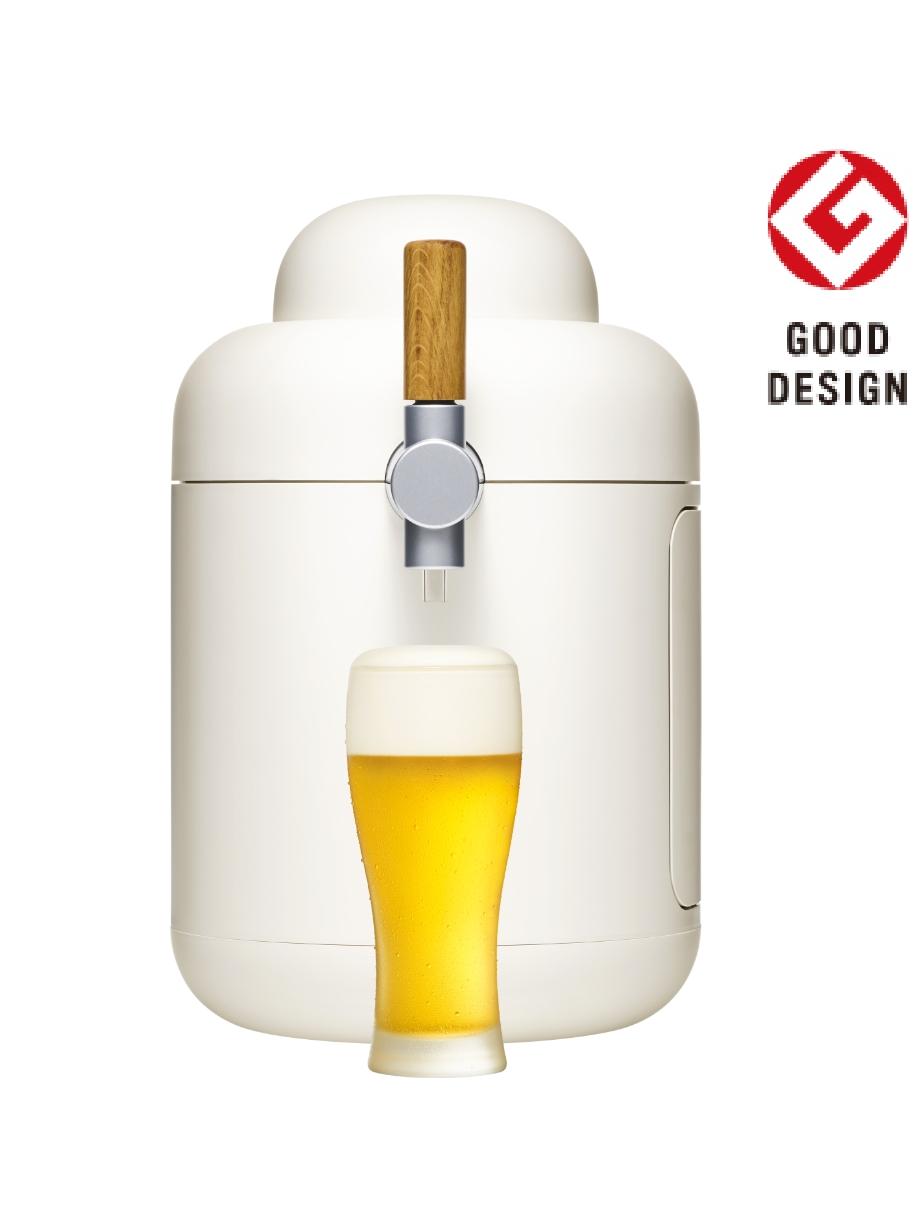 専用に開発したビールサーバー